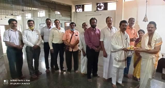 Ravindra Shetty Sanmana | ಅಲೆಮಾರಿ ನಿಗಮ ಅಧ್ಯಕ್ಷ ರವೀಂದ್ರ ಶೆಟ್ಟಿಯವರಿಗೆ ಸನ್ಮಾನ