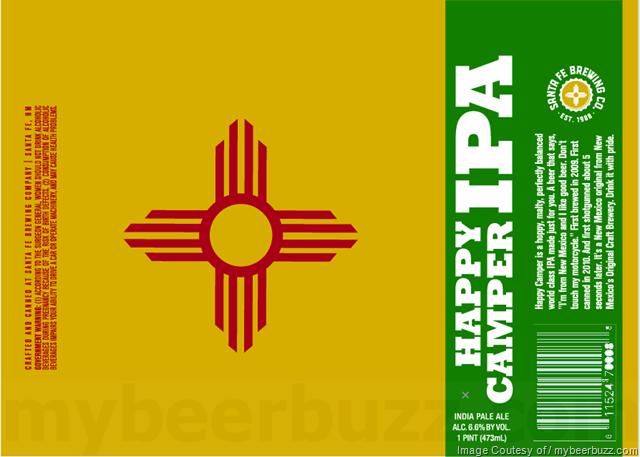 Santa Fe Brewing Happy Camper IPA 16oz Cans