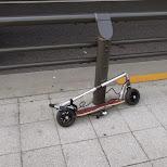 interesting scooter in Tokyo, Tokyo, Japan