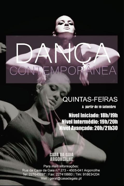 dança contemporanea casa da gaia- argoncilhe