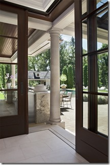 Lift and Slide Door with Flush Track