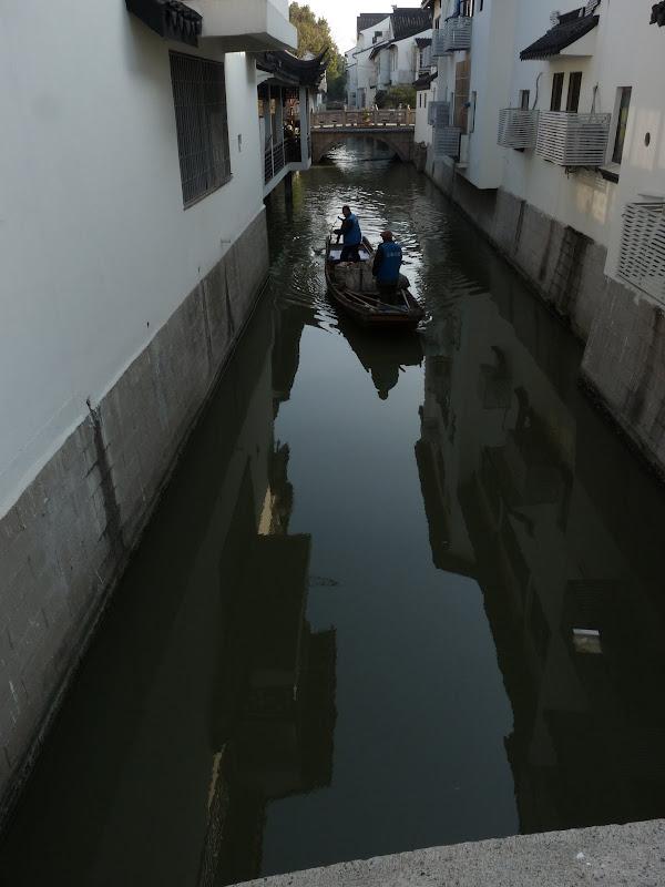 Suzhou.Les éboueurs lacustres