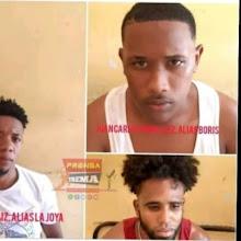 Policía apresó en Azua tres jóvenes acusado de dar muerte a un joven en Bayahonda Tamayo