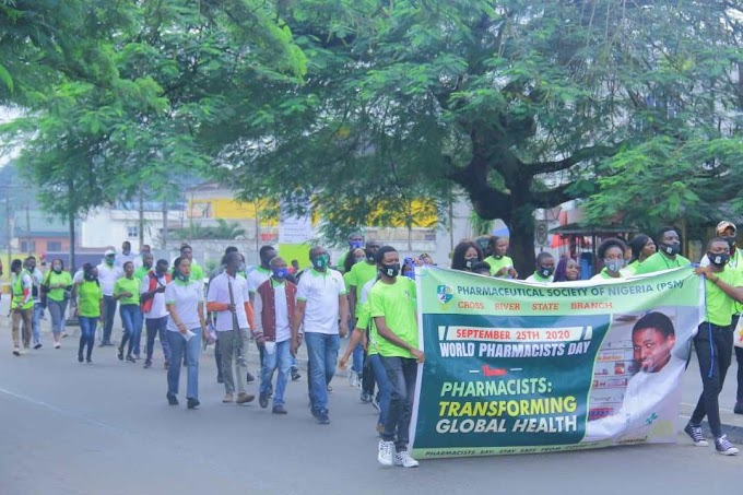 World Pharmacist Day, Cross Rivers Joins the fight against quackery and fake drugs