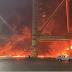 دبي.. السيطرة على حريق بعد انفجار حاوية في ميناء جبل علي