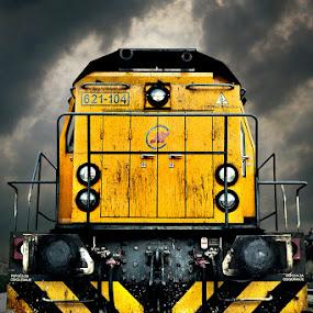 Move away by Mladjan Pajkic - Transportation Trains
