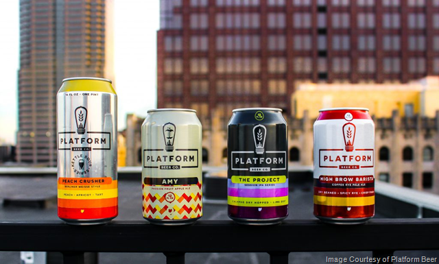 Platform Beer Adding Indiana Distribution