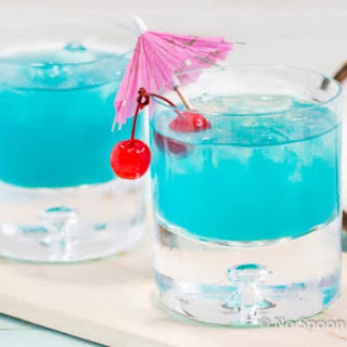 Rum Blue Island Cocktail Recipe