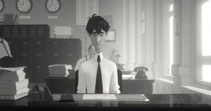 *榮獲奧斯卡提名-迪士尼動畫短片Paperman:紙飛機劃開愛情的隔界 4