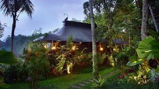 Vie eksterior kamar Capella Ubud Hotel