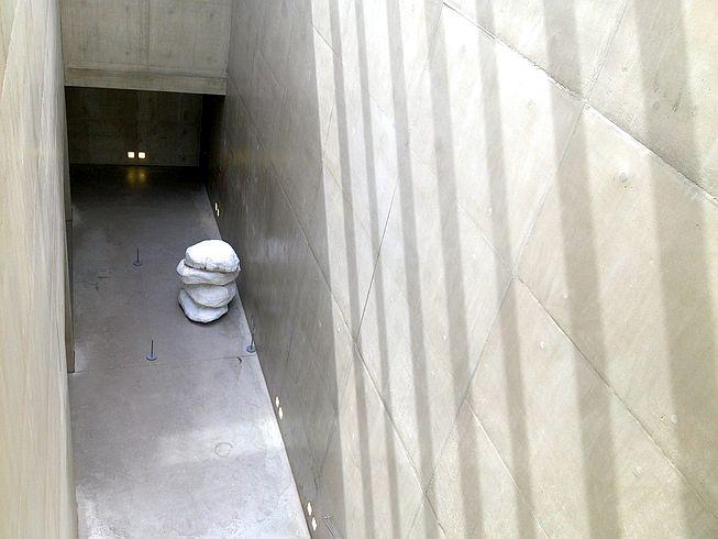 Treppenhaus von oben: Museum der Moderne, Salzburg