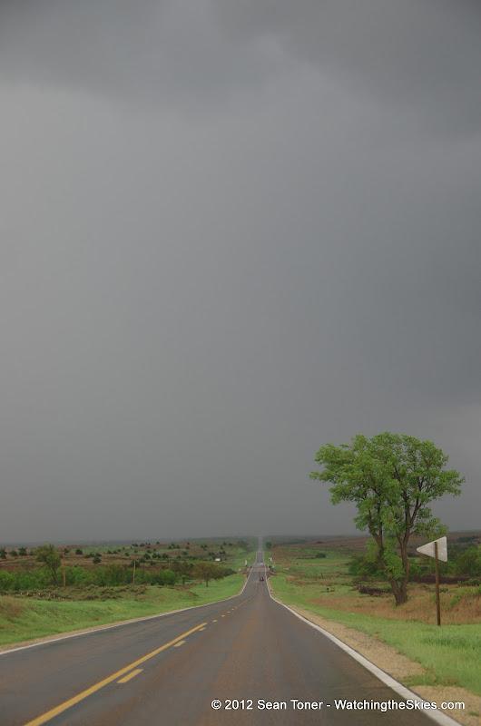 04-14-12 Oklahoma & Kansas Storm Chase - High Risk - IMGP0403.JPG