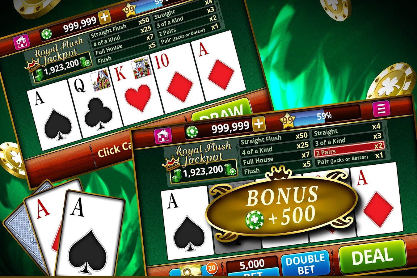 best android offline poker games