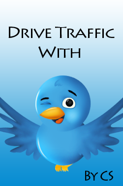 Drive traffic with twitter