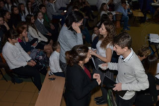 Jasełka w Zespole Szkół w Trzebieży Gimnazjum 2016.12.22