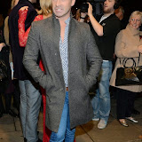 WWW.ENTSIMAGES.COM -     Louie Spence   arriving    at Dance Til Dawn - press night   Aldwych Theatre, London November 3rd 2014Strictly Come Dancing duo Flavia Cacace-Mistry and Vincent Simone  bring their new show inspired by the Golden Age of Hollywood to the West End for a limited ten week run.                                                    Photo Mobis Photos/OIC 0203 174 1069