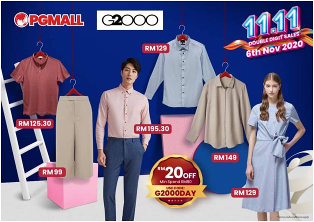 PGMall Big Brand Pre Sales 11.11 Menampilkan Jenama Terkenal Dengan Diskaun Dan Hadiah Misteri Buat Pembeli