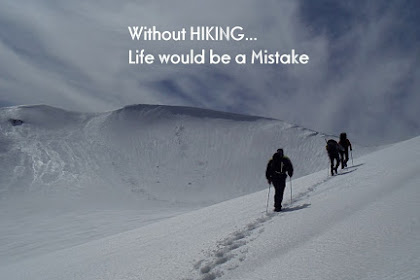 Hiking In Snow Quotes
