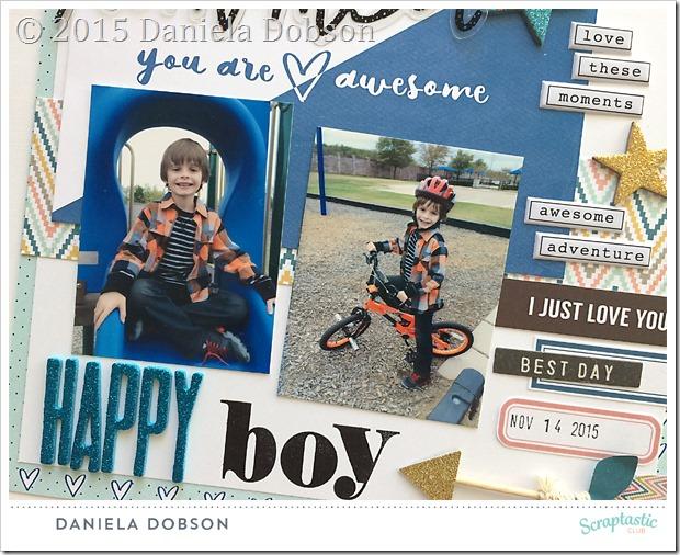 Happy boy close by Daniela Dobson