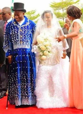 Nigerian wedding, Faith Sakwe, GEJ, Goodluck Johnathan, Godswill Edward Osim, Nigerian President