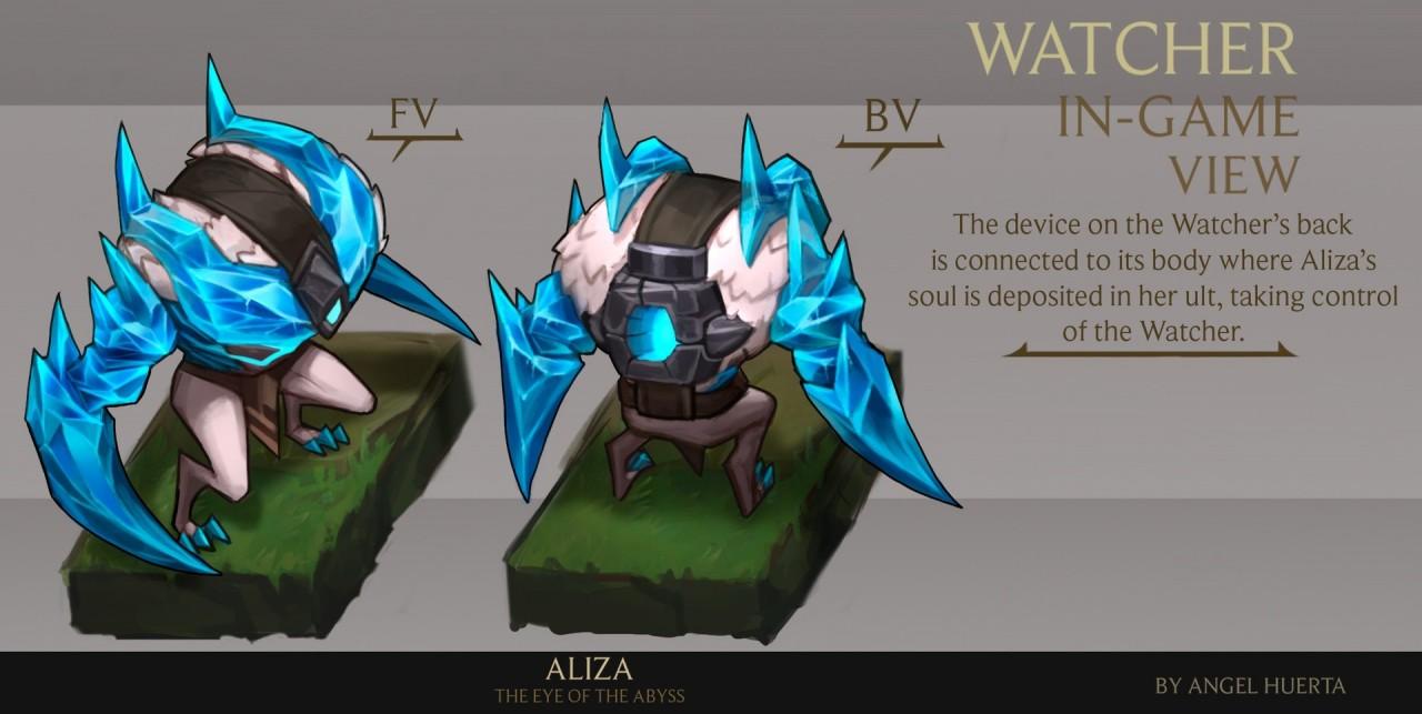 Watcher - đệ tử Aliza
