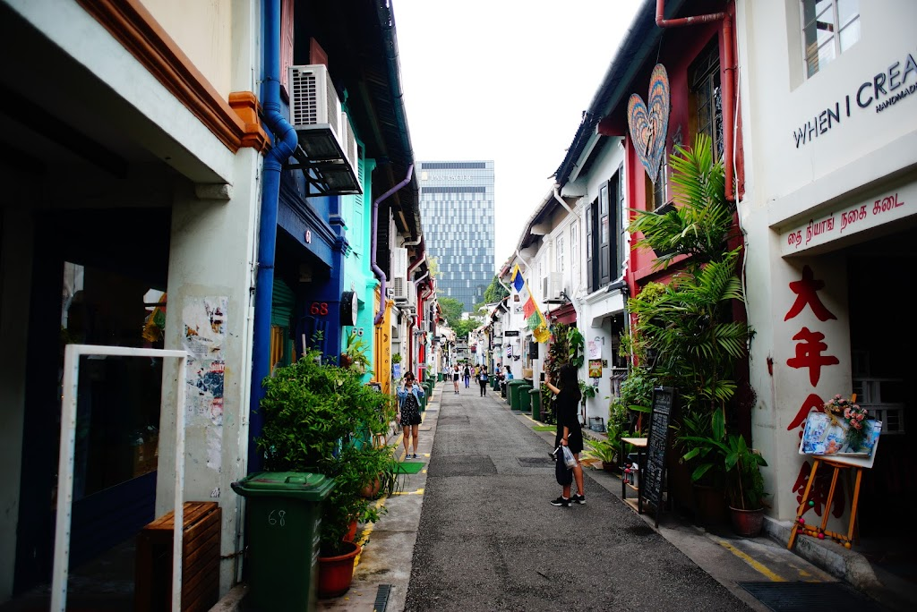 Haiji Lane, cool shopping street in Singapore