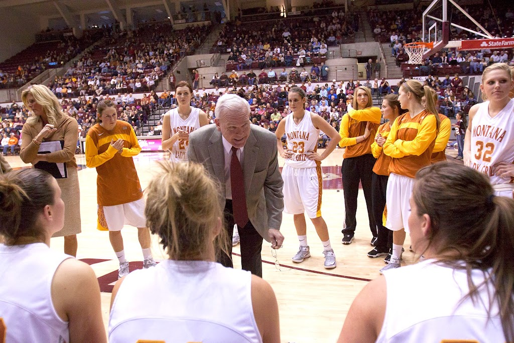 Dahlberg Arena in Missoula, Mont., January 19th, 2013.