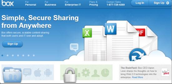 Almacenar archivos online Gratis