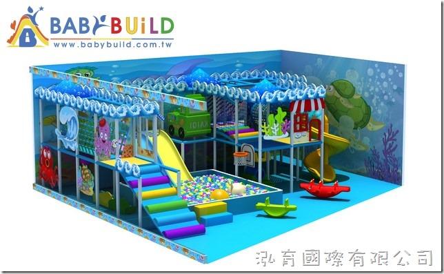 BabyBuild 室內3D兒童遊戲設施