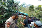 Rem Blong, Mobil Rombongan Dari Langsa Terjun ke Jurang di Takengon