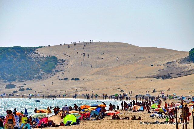 Duna de bolonia - Punta Camarinal - Cabo de Gracia