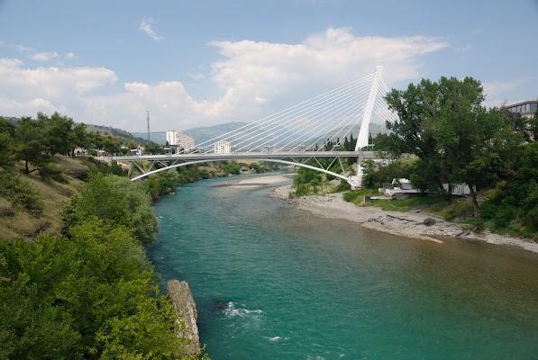 Millennium-Brücke in Podgorica