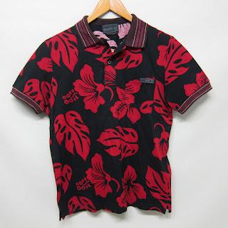 Prada Printed Polo Shirt