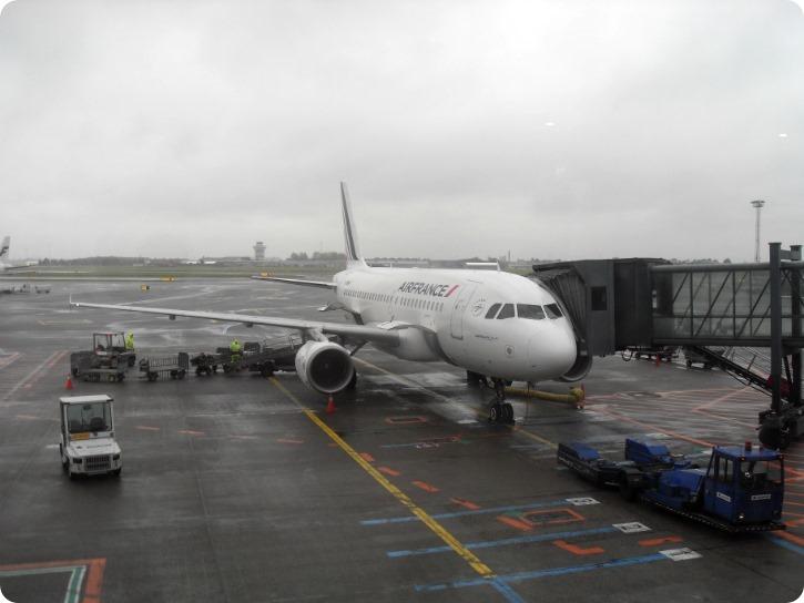Lige før boarding