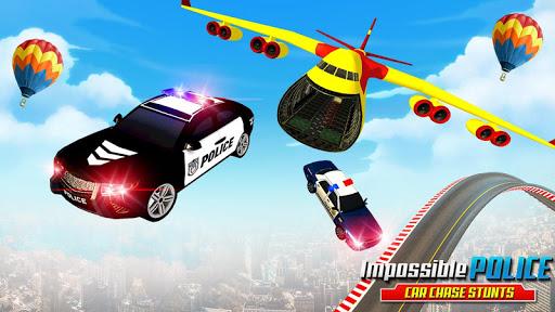مطاردة سيارة الشرطة المستحيلة: ألعاب السيارات المثيرة 2020 لقطات 5