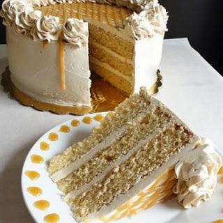 Old-Fashioned Butterscotch Cake