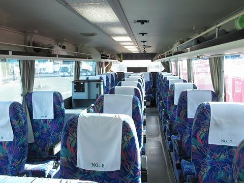 道北バス「サンライズ旭川釧路号」 1040 車内