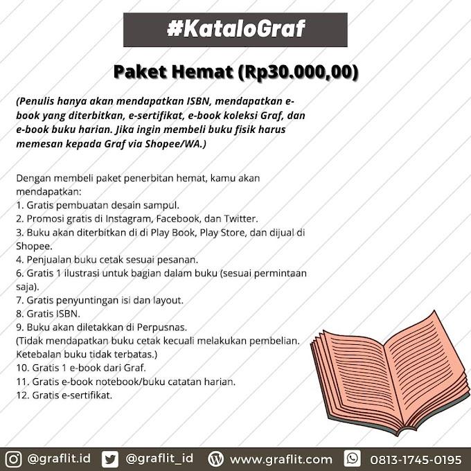 Paket Penerbitan Hemat (Rp30.000,00)