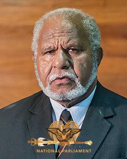 Madang Governor Yama
