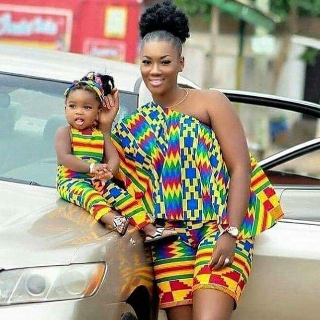 Fabulous Hot Styles For Mother And Child (Daughter) 7