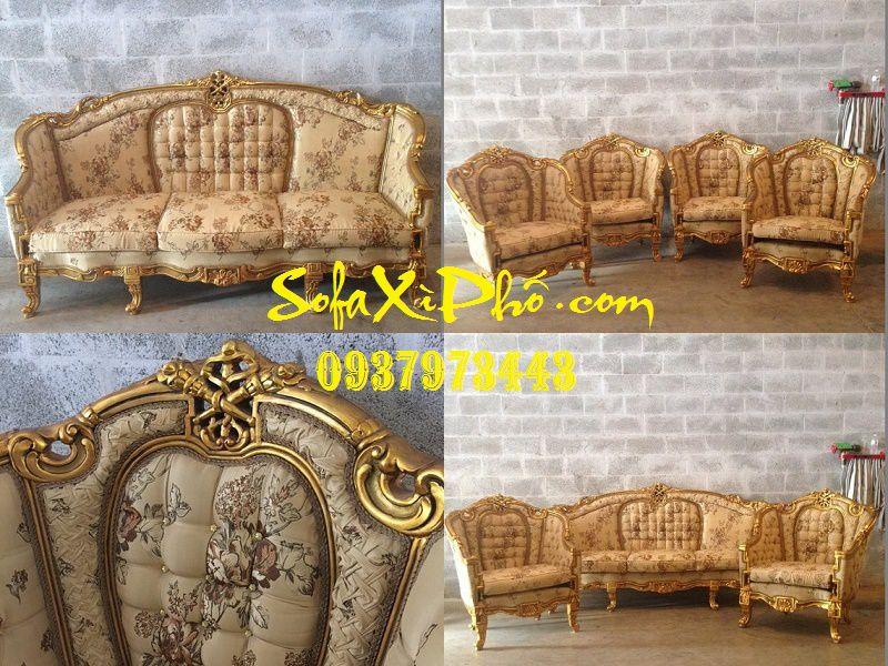 Bọc lại ghế sofa Sửa ghế sofa cổ điển chất lượng như mới tại hcm