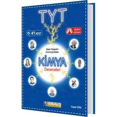 Antrenör Yayınları - TYT Kimya - 41'li Deneme
