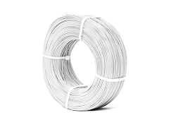 White KVP Master Spool PLA Filament Koil - 3.00mm (1kg)