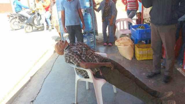 Anciano muere en un colmado de infarto fulminantemente