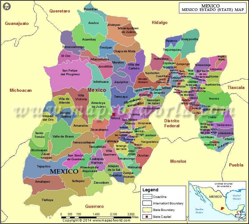 mexico-estado-mapa