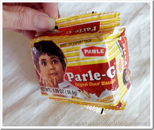 Sample of Parle-G Original Gluco Biscuits