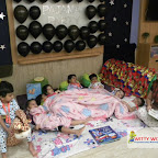 Pajama Party enjoyed by Nursery Morning section at Witty World, Chikoowadi (2017-18)