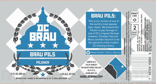 DC Brau - Brau Pils