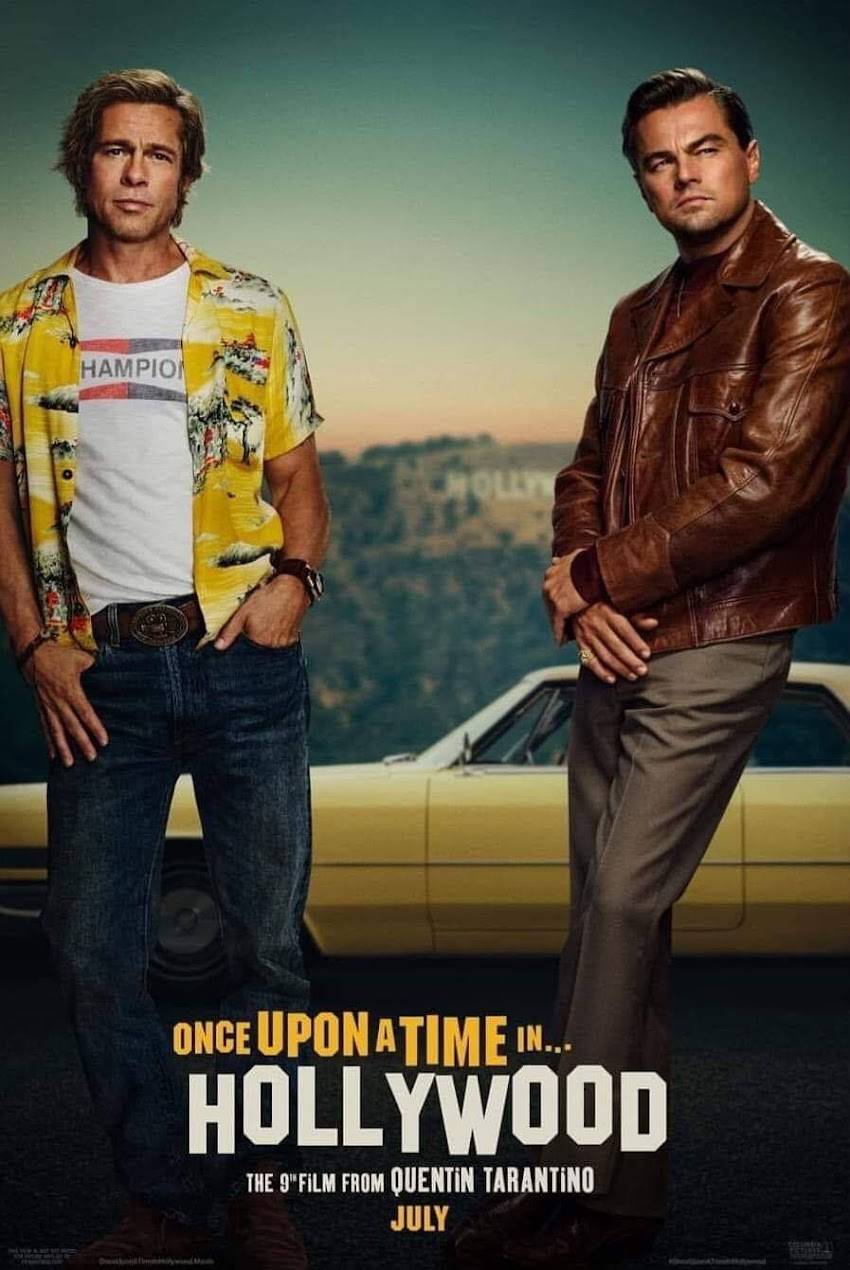 Once Upon a Time in Hollywood Ecco Il Poster Ufficiale