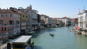 The Grand Canal from the Ponte dell'Academia